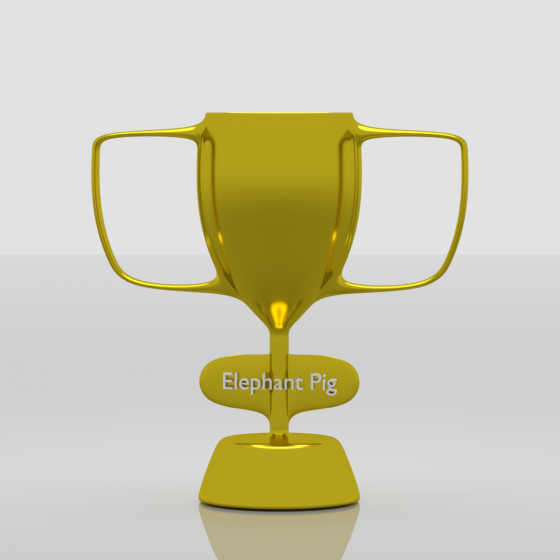 ElephantPig Trophy
